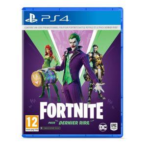 Fortnite : Pack Dernier Rire (PS4) [PS4]