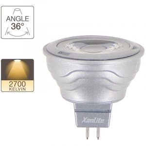 Xanlite VM35S Gamme Platinum Ampoule 35 W/6,5 W GU5.3 Gris