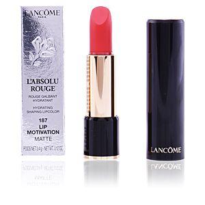 Lancôme L'Absolu Rouge : 187 Lip Motivation Matte - Rouge galbant hydratant