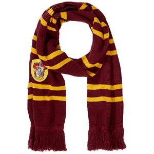 Cinereplicas Gryffondor - Echarpe Harry Potter pourpre ultra douce 190 cm