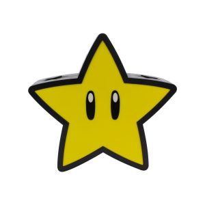 Paladone Lampe Projection 3d Super Mario - Super Star
