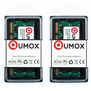 Qumox DDR2800SODIMM - Barrette mémoire 2 Go DDR2 800 MHz SODIMM 200 broches
