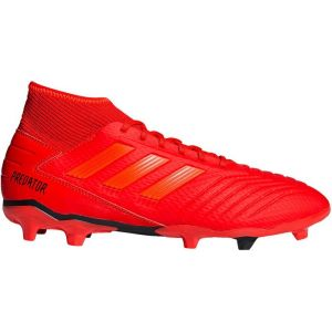 Adidas PREDATOR 19.3 FG - ROUGE - homme - CHAUSSURES HAUTES
