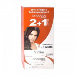 Ducray Anacaps - Reactiv, 3x30 capsules