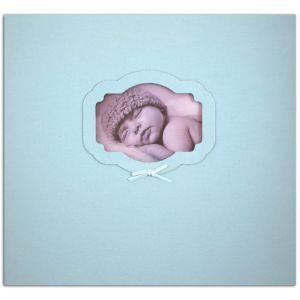 Toga Album à vis - Naissance - bleu - 30,5 x 30,5 cm