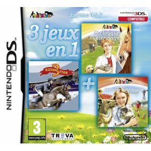 3 jeux en 1 : Animaux Vol. 2 sur NDS