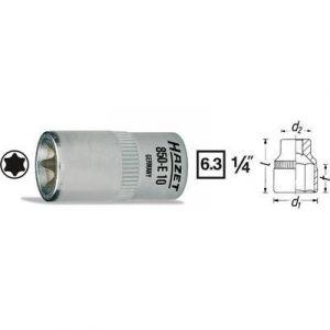 """Hazet 850-E10 - Douille pour clé à douille Torx extérieur T 10 1/4"""""""" (6.3 mm)"""