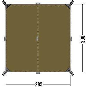 Tatonka 2490.21 - Bâche Tarp 2 (285 x 300 cm)