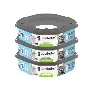 LitterLocker Recharge pour poubelle litière plus Lot de 3