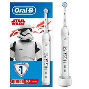 Oral-B Junior Brosse à Dents Électrique par Braun, Star Wars
