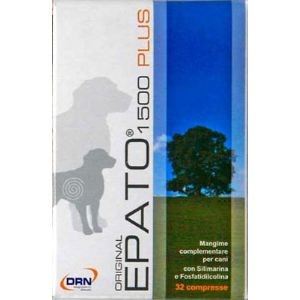 DRN Epato 1500 Plus - Probiotique pour le soutien de la fonction hépatique du chien + de 5kg