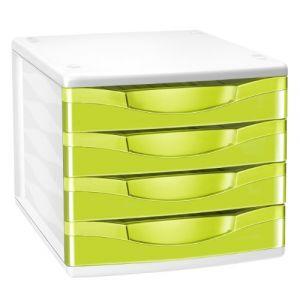 CEP Office Solutions Module de classement 4 tiroirs Gloss Anis 894G