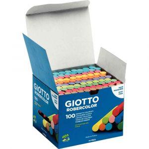 Image de Giotto 5390 00 Carton de 100 craies de différentes couleurs RoberColor