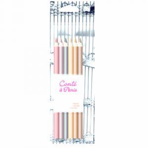 Conté à paris 6 crayons esquisse sanguine conté