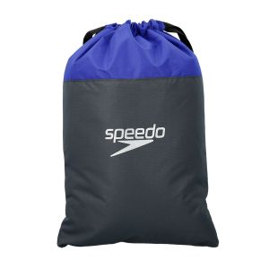 Speedo Pool Sac de Natation Mixte Adulte, Oxid Grey/Ultramarine, Taille Unique