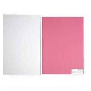 Creotime Papier cartonné A4 Rose foncé - 180 gr - 20 pcs