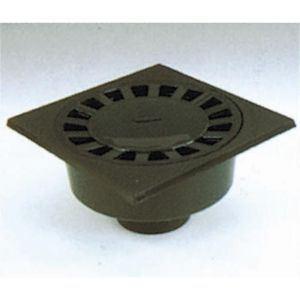 Nicoll SC1009 - Siphon de cour à emboiture extérieure verticale PVC diamètre 100 - 90 Lg 250 mm
