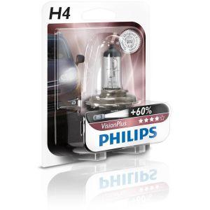 Philips 1 ampoule H4 Vision Plus 60