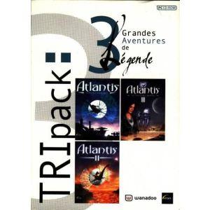 Atlantis : Secrets d'un Monde Oublié + Atlantis 2 + Atlantis III : Le Nouveau Monde - Coffret Tripack [PC]