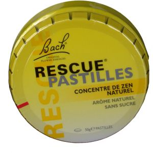 Image de Bach Pastilles Rescue orange 50 g