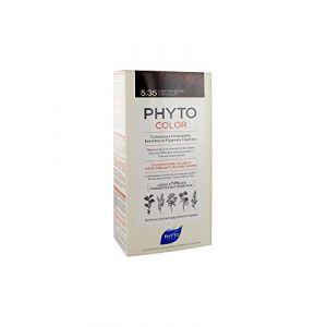 Phyto Paris Color - Coloration Permanente Enrichie en Pigments Végétaux - 5.35 Châtain Clair Chocolat
