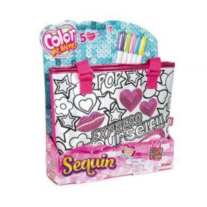 Color me mine sac fille colorier et personnaliser - Sac a colorier violetta ...