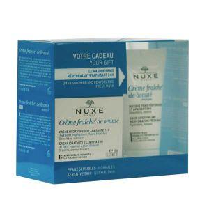 Nuxe Coffret Crème fraîche de Beauté - Crème hydratante 24H et Masque
