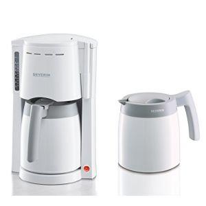 Severin KA 9233 - Cafetière filtre isotherme 2 verseuses