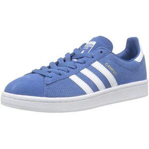 Adidas Campus Bleue Et Blanche Baskets/Tennis Enfant