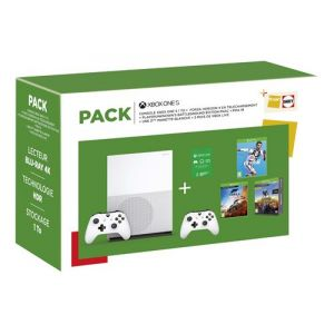 Microsoft PACK XBOX FORZA HORIZON 4 + FIFA 19 + PUBG + 2EME MANETTE + 3 MOIS DE LIVE