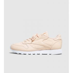 Reebok Classic Leather Femme, rose/blanc