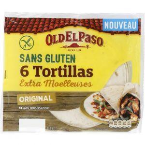 Old el paso Tortillas extra moelleuses orignal sans gluten