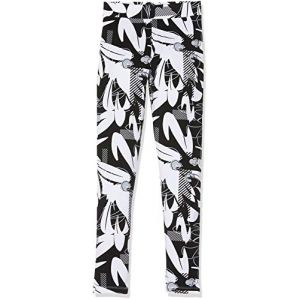 Puma Alpha AOP Leggings G Pantalon De Sport Fille, Black, 152