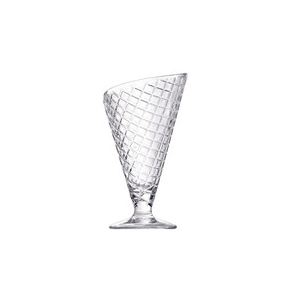 Cosy & Trendy Set de 2 coupes Cornetto imitation cornet en verre