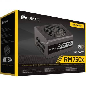Corsair RM750x - Bloc d'alimentation PC modulaire 750W certifié 80 Plus Gold