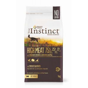 True instinct Croquettes pour chat High Meat Adult