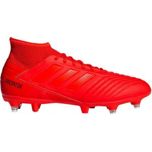 Adidas PREDATOR 19.3 SG - ROUGE - adulte - CHAUSSURES BASSES