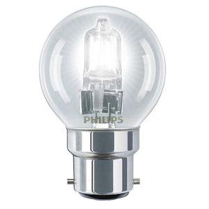 Philips 925648744205 Ampoule Eco-Halogène Sphérique - Culot B22 - 42 Watts consommés - Equivalence incandescence : 55W