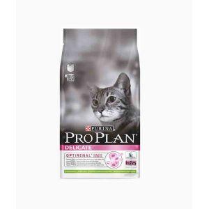 Purina Delicate - Riche en Agneau - 10 KG - Croquettes pour chat adulte
