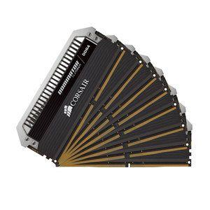 Corsair CMK16GX4M2B3733C17R - Barrette mémoire Dominator Platinum 128 Go (8x 16 Go) DDR4 3000 MHz CL16
