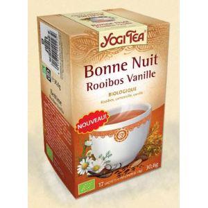 Yogi Tea Bonne Nuit Rooïbos Vanille - Tisane ayurvédique Bio