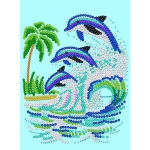 KSG Sequin art : Dauphin (0507)