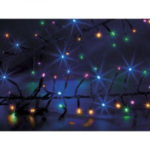 Guirlande l ineuse extérieur Boa 192 LED Multicolore