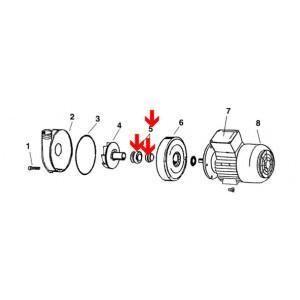 Procopi 568605 - Garniture mécanique de pompe Sirem