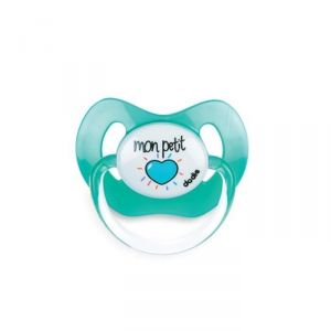 Dodie Physio Messages Coeurs +6 mois - Sucette en silicone