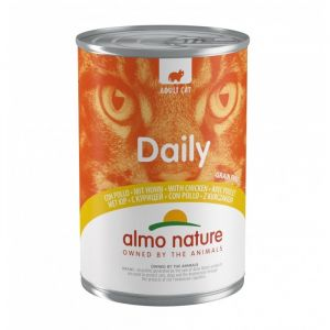 Almo Nature Nature Chat Daily Poulet - Boîte, 400 g