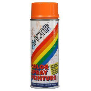 Motip Bombe de peinture orange sanguine brillant RAL 2002 400 ml M01681
