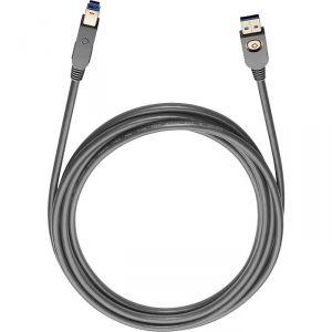 Oehlbach 9223 - Câble USB 3.0 Max A/B 7,50 m