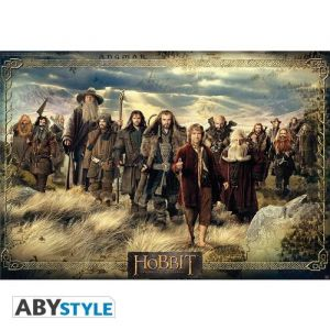 Abystyle Poster Le Hobbit - Groupe - 98 x 68 cm