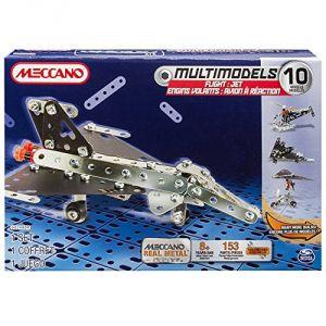 Meccano 6024809 - Avion à réaction 10 modèles